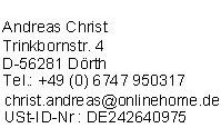 Impressum von GuenstigeHausratversicherungen.de